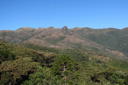 Vista da localidade Serra Negra (Itamonte-MG)